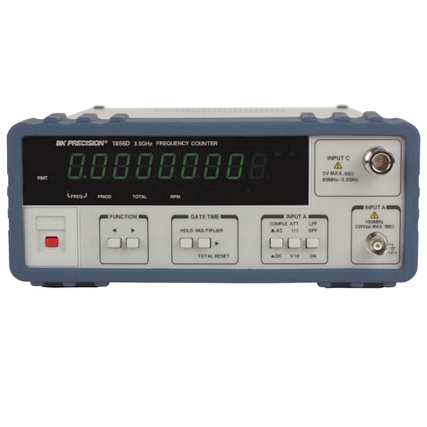 B&K Precision 1856D 3.5 GHz 9 Digit Multifunction Counter