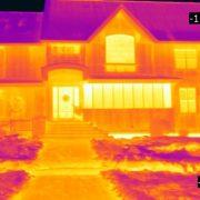 Flir E53 House Thermal Image