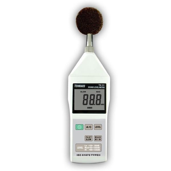 Tenmars Tm 101 Sound Level Meter Obiat Electronics