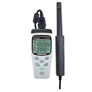Tenmars TM-182 Temperature, Humidity Meter with Datalogging