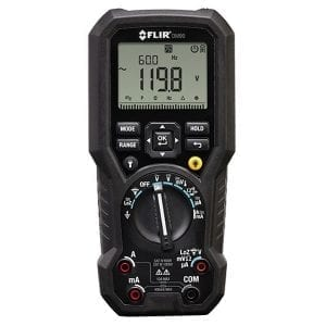 FLIR DM90 True RMS Industrial Multimeter with Temperature
