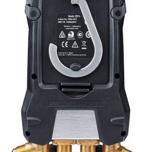 testo 557s Smart Vacuum Kit with filling hoses -back view