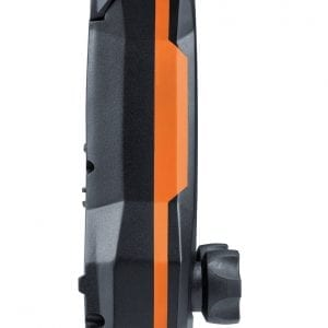 testo 557s Smart Vacuum Kit with filling hoses - side view
