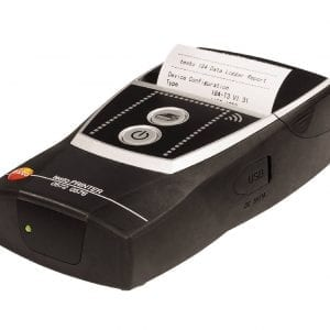 Mobile printer for data loggers