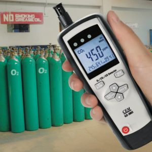 GD-3803-Multiple Gas Analyser-in-use